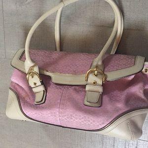 Coach summer purse.